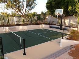 Backyard Sport Courts Best 25 Backyard Sports Ideas On Pinterest Sports Court