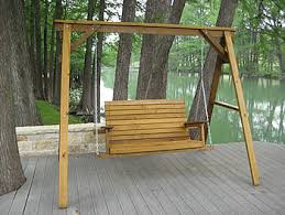 porch swings made by quality patio furniture handcrafted by jack