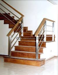 Interior Wood Railing Indoor Railing Wooden With Bars For Stairs Bespoke Contemporary