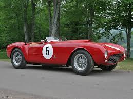 spyder ferrari 1953 ferrari 375 mm spyder ferrari supercars net