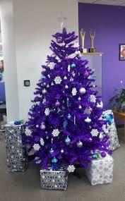 noël en mode violet tree purple tree and