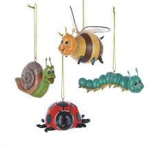 buy pack of 12 snail bee caterpillar bug insect
