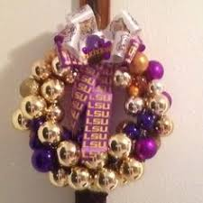 lsu christmas ornament wreath lsu saints football pinterest