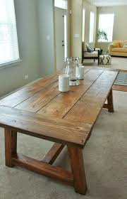homemade dining room table inspirational home decorating top on