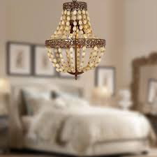 antique finish wood 3 lights cage chandelier at lightingbox com canada