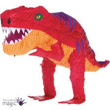 dinosaur pinata t rex pinata childrens birthday party prehistoric