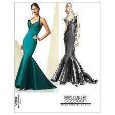 dress pattern john lewis vogue women s bellville sassoon evening dress sewing pattern 2931
