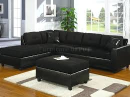 Houzz Sectional Sofas Sectional Large Black Microfiber Sectional Large Sectional Sofa