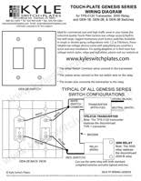touch plate genesis low voltage wiring diagram u0026 instructions