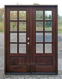 All Glass Doors Exterior Exterior Doors Solid Mahogany Wood Doors