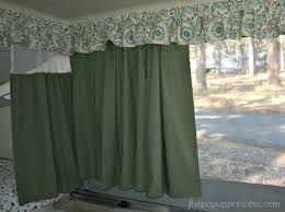 How To Sew Valance Pop Up Camper Makeover The Curtains Part 1 The Pop Up Princess