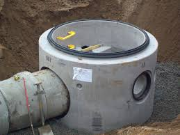 sealed precast concrete manhole systems