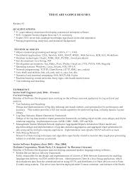 Resume Samples Summary Of Qualifications by Sample Summary Objectives For Resume Experience Resumes Resume