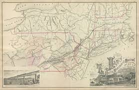new england central railroad map lehigh and new england railroad wikipedia