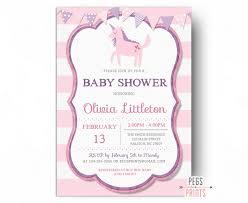 unicorn baby shower invitation printable unicorn shower