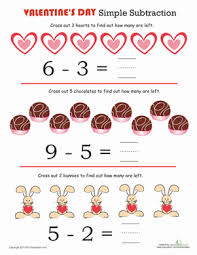 preschool valentine u0027s day worksheets u0026 free printables education com
