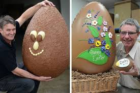large easter eggs are these manchester s easter eggs chocolate shell