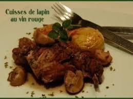 cuisiner cuisses de lapin cuisses de lapin au vin recette ptitchef