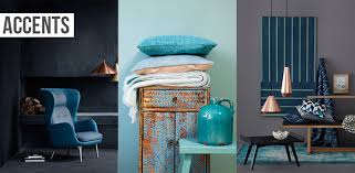 Gold And Blue Bedroom Inspired By Copper And Blue Flüff Design And Decor