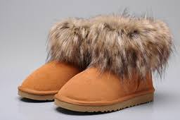 thanksgiving ugg fox fur boots sale store