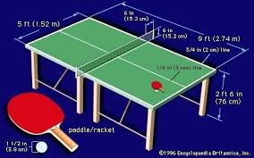 what size is a regulation ping pong table ping pong table dimensions gypsy table tennis size on fabulous home