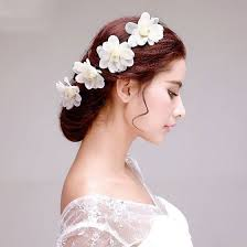 hair accessories for wedding rhinestone flower the bridal headdress lace flower wedding