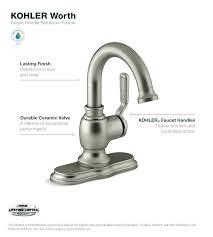 kohler bathroom sink faucets single hole kohler bathroom sink faucets single hole worth faucet faucets direct
