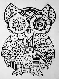 sugar skull owl coloring pages coloring home