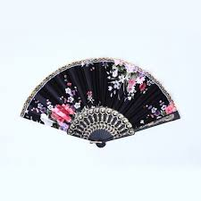 wholesale fans wholesale beautiful held fan lace flower floral fabric