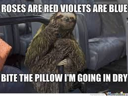 Sloth Rape Meme - rape sloth by scarth meme center