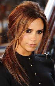 layer hair with ponytail at crown hairstyles with golden brown highlights