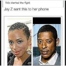Jay Z Meme - see more jay z beyonce and solange memes at http jeffzelaya com