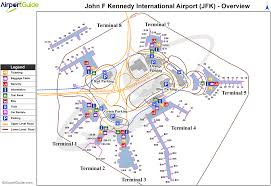 New York Airport Map by Jfk Airport New York Map