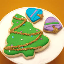 decorated christmas cookies trees u0026 ornaments