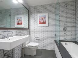 ideas bathroom subway tile regarding wonderful bathroom subway