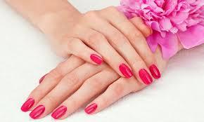 shellac manicure karen u0027s uv nail salon groupon