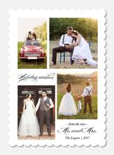 Newly Wed Christmas Card Newlywed Christmas Cards Photoaffections
