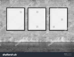 art gallery blank picture frames on stock illustration 213959596