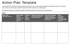 action plan template templates memberpro co