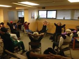 Armchair Yoga For Seniors Non Profit Outreach Raja Yoga And Meditation Center Raja Yoga