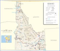 Road Map Of Usa States by Idaho Map Idaho State Map Idaho Road Map Map Of Idaho