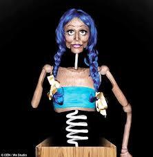 Makeup Artistry Schools In Md Body Makeup Artist Mirjana Milosevic U0027s Creepy Jack In The Box