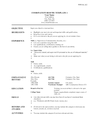 Resume With Qualifications Free Resume Templates Sample Template Word Project Manager Ms