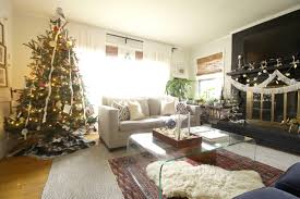 my christmas tree style vintage bohemian cassie bustamante living room christmas decor family style tree