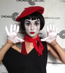 Mime Halloween Costumes French Mime Chicago Costume Blog