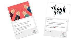 hotel gift card 5 tips for giving the thank you gift hotel gift