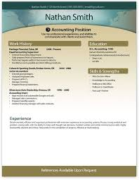 contemporary resume templates free resume template and
