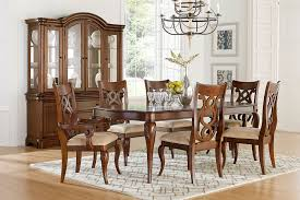 charles dining table 4 side chairs and 2 arm chairs auburn