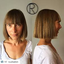 no bangs over 40 50 amazing blunt bob hairstyles 2018 hottest mob lob hair ideas