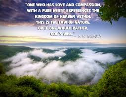 quote pure heart s n goenka u201cone who has love and compassion with a pure heart